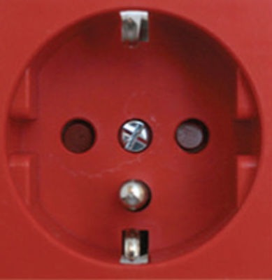 Legrand Dlp İçin 2x2p+T Upspriz Kırmızı