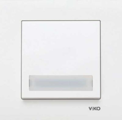 Viko Karre Beyaz Işık Etkt Zil 24v Ç.B. (Çerçeve Hariç)