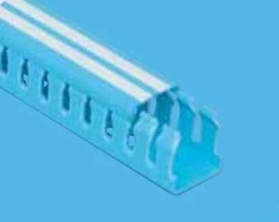 Mutlusan 40x60 Kablo Kanalı (Delikli)(Mavi)(1m)