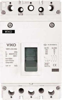 Viko Kompakt Şalter Sabit 25ka 3x125a Sn2