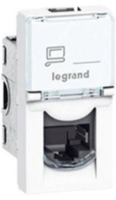 LEGRAND LCS² SİSTEM ARMADA RJ45 CAT6 PRİZ - UTP - 1MODÜL -