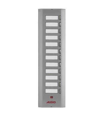 Audıo Audio Konsept Serisi Yan Sıra Tek Butonlu Zil Panel 12li