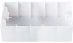 Viko Karre Beyaz 2-Li Sıvaüstü Kasa - Thumbnail