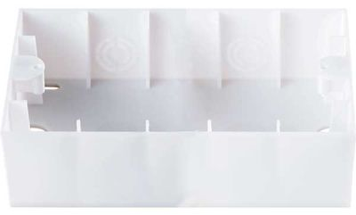 Viko Karre Beyaz 2-Li Sıvaüstü Kasa