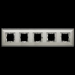 Artline Trenda Metalik Beyaz Beşli Çerçeve - Thumbnail