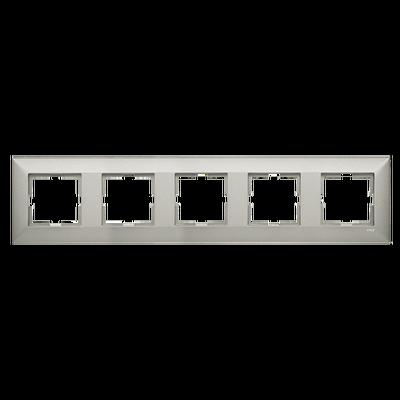 Artline Trenda Metalik Beyaz Beşli Çerçeve