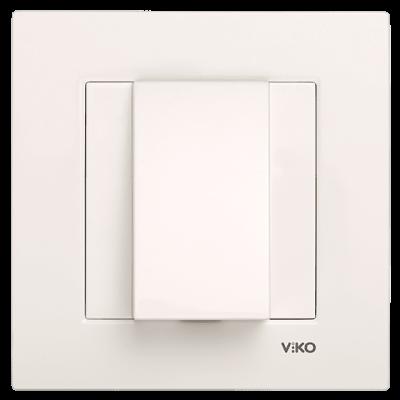 Viko Karre/Meridian Krem Kablo Çıkış Mekanizma ( Çerçeve Hariç )