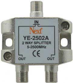 NEXT YE-2502A 1/2 5-2500 MHZ SPLİTTER