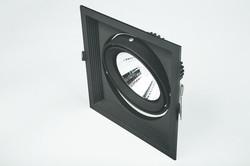 Cata Halospot Led Armatür (1-li Siyah Kasa) CT-5503 - Thumbnail