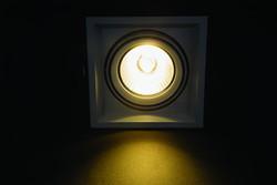 Cata - CATA HALOSPOT LED ARMATÜR (1-Lİ SİYAH KASA) CT-5503 (1)