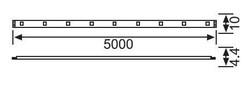 Jupiter - LE208 S Üç Çipli Iç Mekan Serit LED (10 METRE) 12W/M 3000K-GÜNIŞIĞI (1)