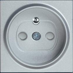Artline Novella/Trenda Metalik Beyaz Ups Priz Ç.K. Kapak (Mekanizma Hariç) - Thumbnail
