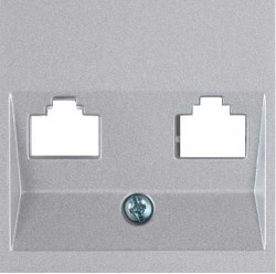 Viko Artline - Artline Novella/Trenda Gümüş Data/Nümeris Kapak (Mekanizma Hariç) (1)