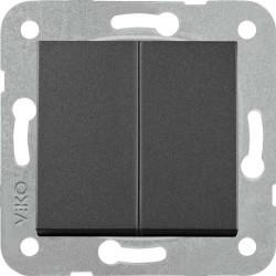 Artline Novella/Trenda Siyah Komütatör Düğme (Mekanizma Hariç) - Thumbnail