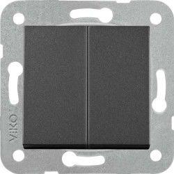 Artline Novella/Trenda Siyah Komütatör Düğme (Mekanizma Hariç)