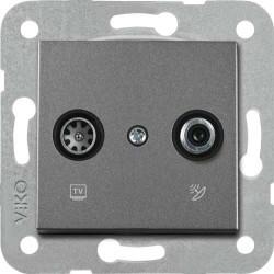 Viko Artline - Artline Novella/Trenda Füme Tv-Sat Kapak (Mekanizma Hariç) (1)