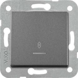 Viko Artline - Artline Novella/Trenda Füme Işık Vavien Düğme (Mekanizma Hariç) (1)