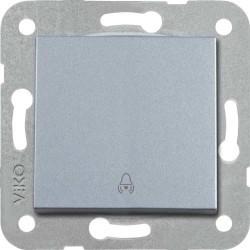 Viko Artline - Artline Novella/Trenda Gümüş Zil Anahtarı Düğme (Mekanizma Hariç) (1)