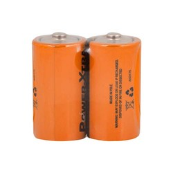 Power-Xtra R14/C Size Zinc Manganez Pil - 2li Paket Shrink - Thumbnail