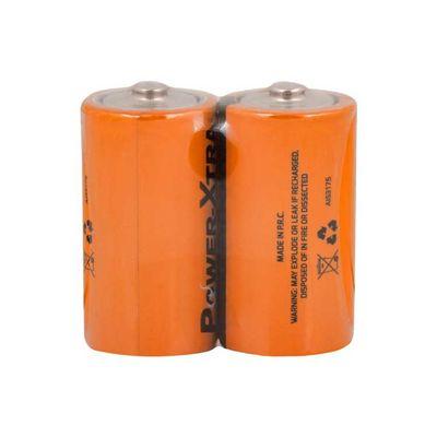 Power-Xtra R14/C Size Zinc Manganez Pil - 2li Paket Shrink