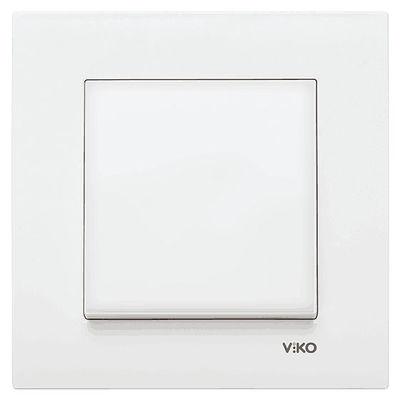 Viko Karre/Meridian Beyaz Anahtar Mekanizma (Çerçeve Hariç)