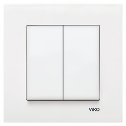 Viko - Viko Karre/Meridian Beyaz Komütatör Mekanizma (Çerçeve Hariç) (1)