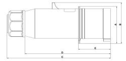 TEM - TEM CEE NORM 4x16 A FİŞ (1)