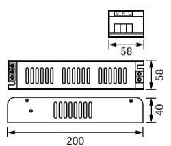 JUPİTER - JUPİTER LK977 12V/150W SLIM LED SÜRÜCÜ (12,5A) (1)