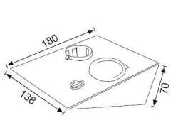 JUPİTER - JUPİTER LS445 Kabinet LED Spot 3W (3000K) Epistar SMD LED (1)